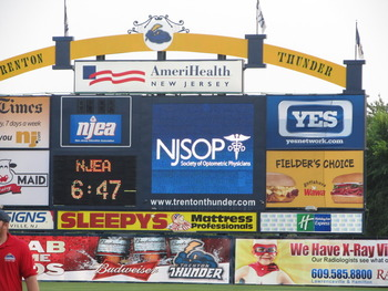 NJSOP at the Trenton Thunder